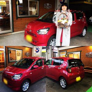 富士吉田市のM様、新車ご購入誠にありがとうございました!