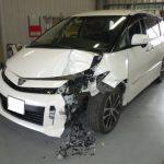 板金修理の事例紹介!富士吉田市・トヨタ・エスティマ
