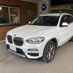 BMW X3 板金・塗装・修理(富士吉田市)